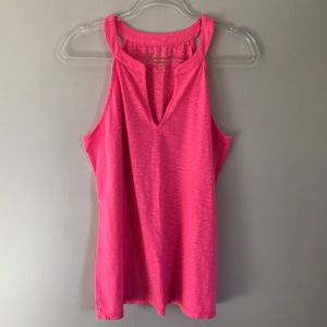 LILLY PULITZER | hot pink tank | Large
